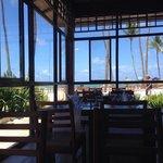 Restaurant Gaucho le midi au bord de la plage