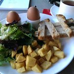 Breakfast Every Monring was a treat
