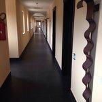 Il corridoio verso la mia camera.