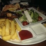 Tasty mixed grill for a group