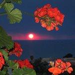 sunset from restuarant