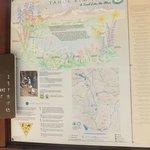Tahoe Rim Trail sign board/guide