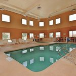 Indoor heated pool and spa