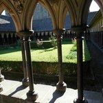 Garden/Courtyard at Top of Abbaye