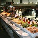 vue de un des buffets