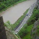 Bristol Bridge visão da ponte