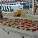 Desayuno del barco