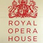 Royal Opera House sign