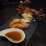 Appertizer-soft shell crab