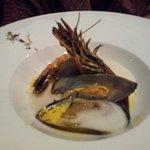 Main- seafood in saffron