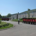 Changing of the guard at the Citadfelle