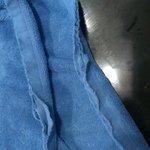 Frayed linen