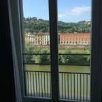 Vista del Arno desde la habitacion