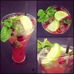 Drunken cranberry Mojito