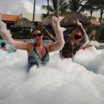 Foam Party~ Milky Way & I!