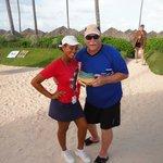 Dad & Cinthia!