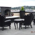 Nice roof top furniture