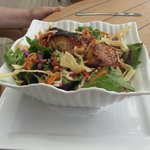 Salmon Nested in Salad