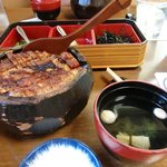 This Hitsu-mabushi eel is a local specialty