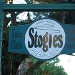 Stogies Sign