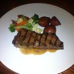 Steak was soooo good.
