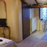 Room on 1st flr of smaller bldg