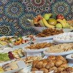 Le buffet du ramadan