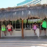 beach swing bar