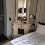 Room 107 - lovely but tiny