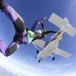 woohoo!!! Skydive Bunbury.