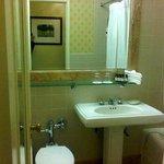 Small bathroom was okay