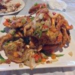 Blue crabs were delicious.