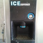 Ice machine which start with room key