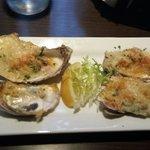 Oyster rockerfeller for starters