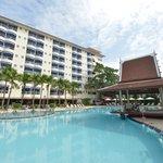 Swimming Pool + Sala Thai