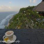 Sangkar Restaurant breakfast with coffee