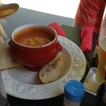 Tomato Soup.  Very nice.