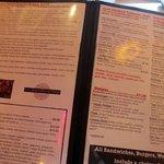 More of a huge menu