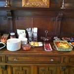 Breakfast buffet available at 8:00 am