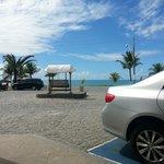 Hotel de frente pro mar na praia de Taperapuã