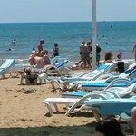 пляж песчанный