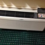 Older type of A/C unit
