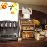 juice bar and fresh bread