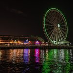 The Great Wheel at night