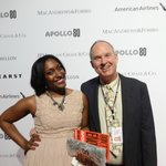 Walking the red carpet at the Apollo Spring Gala 2014