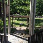 вид с балкона номеров