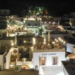 View at roof tarrace of Lindos Restaurant