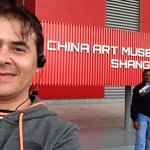 Entry of China Pavilion at Expo 2010