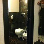 baño perfecto y limpio con secador