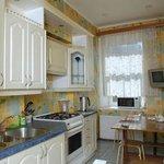 Арина апартаменты кухня